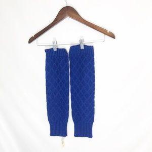 NWT Hollister Blue Leg Warmers